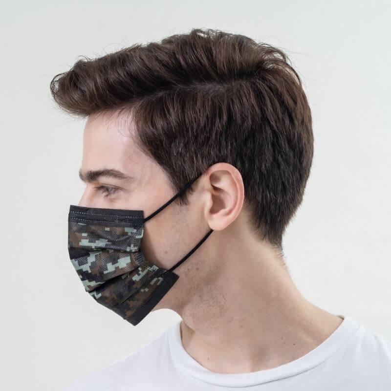 medtecs Camo face mask