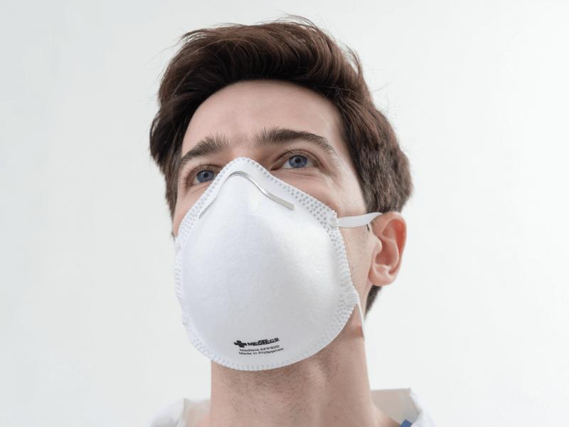 Medtecs N95 Face-mask Respirator