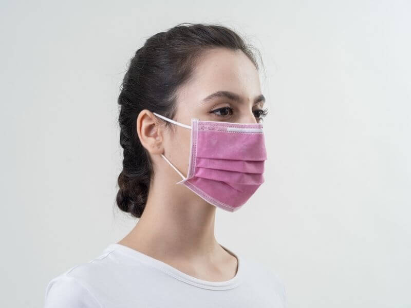 Pink Surgical Face Mask ASTM Level 1