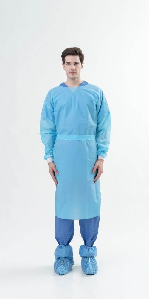AAMI Level 3 PE Gown三級隔離衣-Medtecs美德醫療