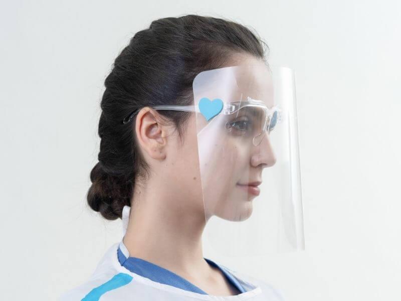 Medtecs Face shield light