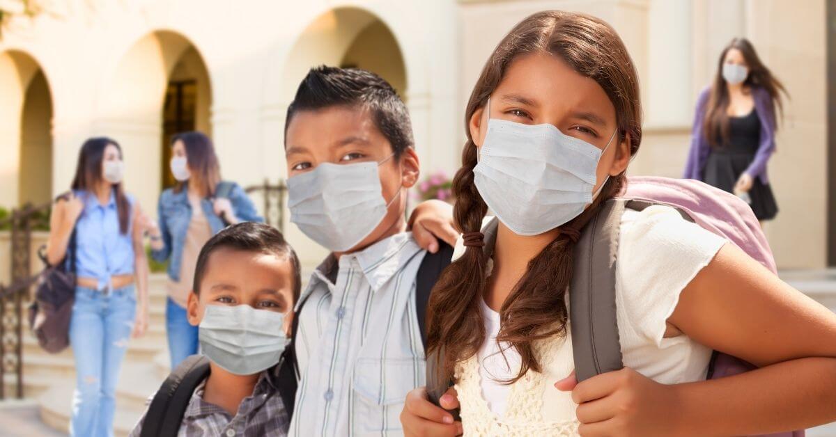 Benefits of children wearing masks
