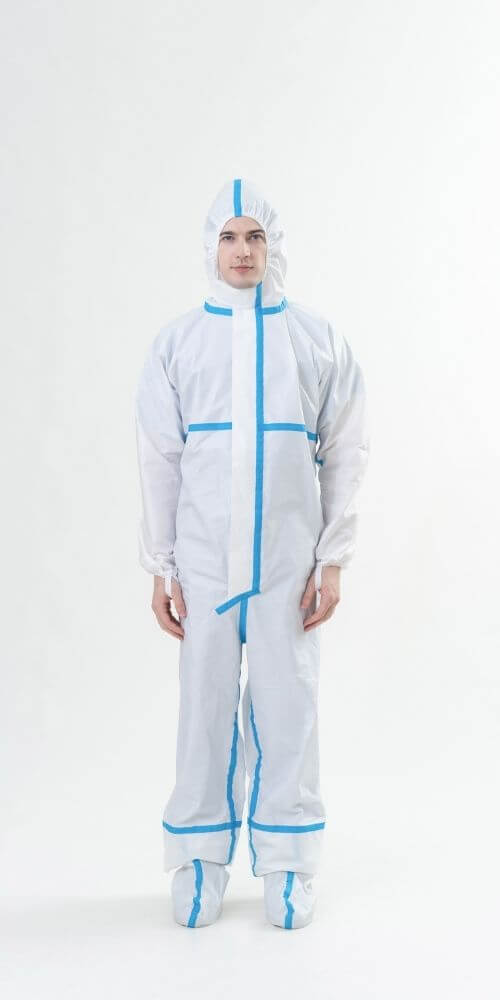 MedTecs-Coverall-Product-With-美德醫療有膠條防護衣