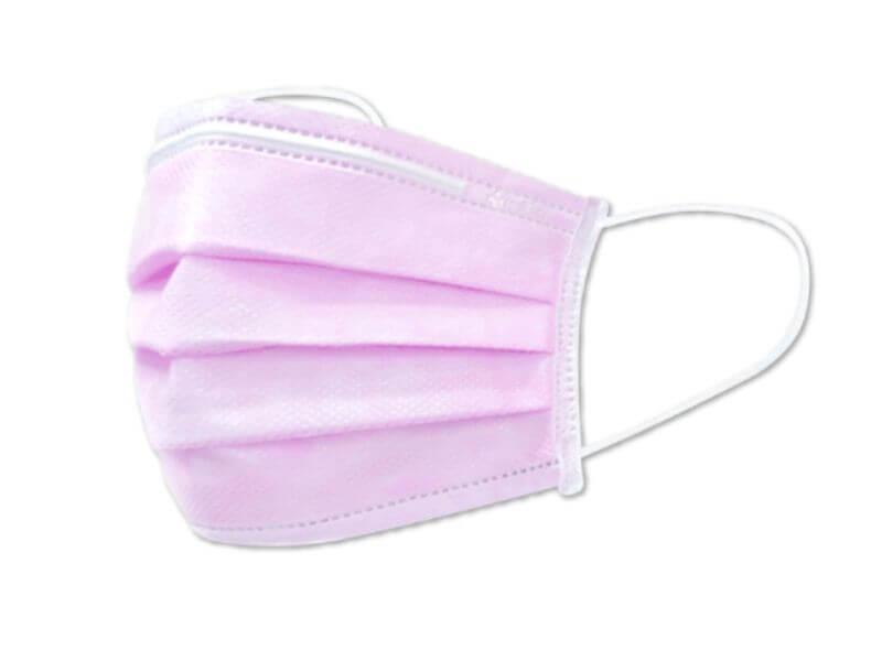 Medtecs medical face masks 美德醫療口罩-pink-脫魯粉