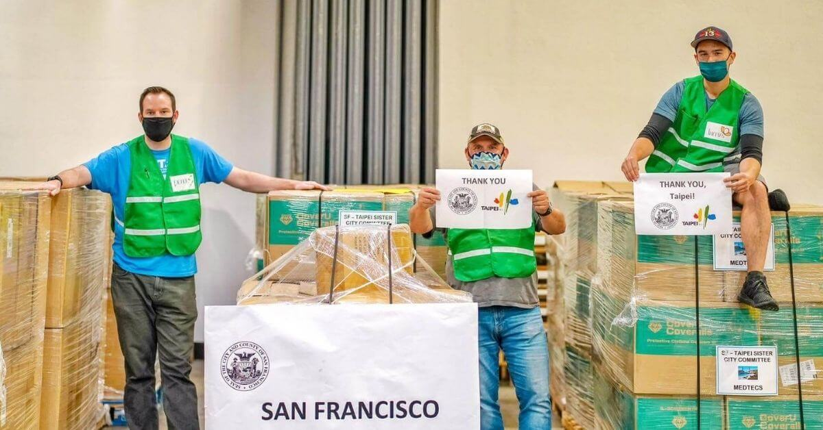 San Francisco Medtecs donation