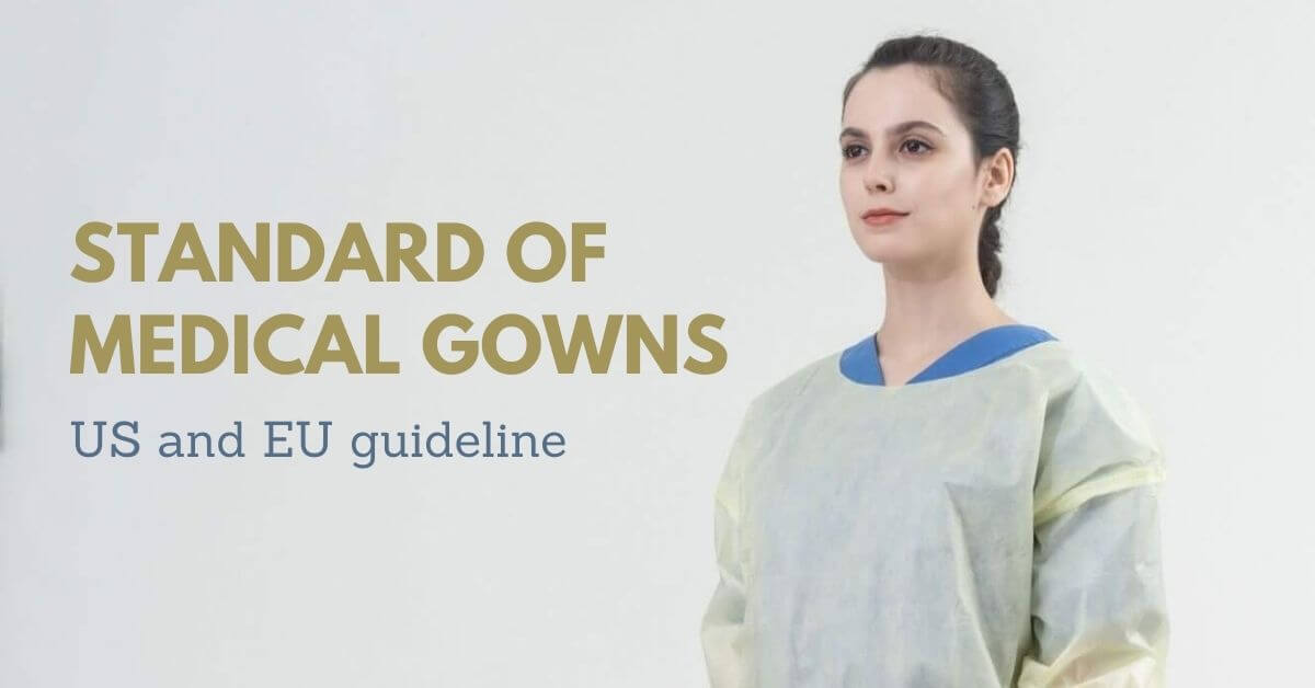 standard of medical gowns