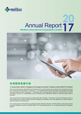 Medtecs 2017 Annual Report