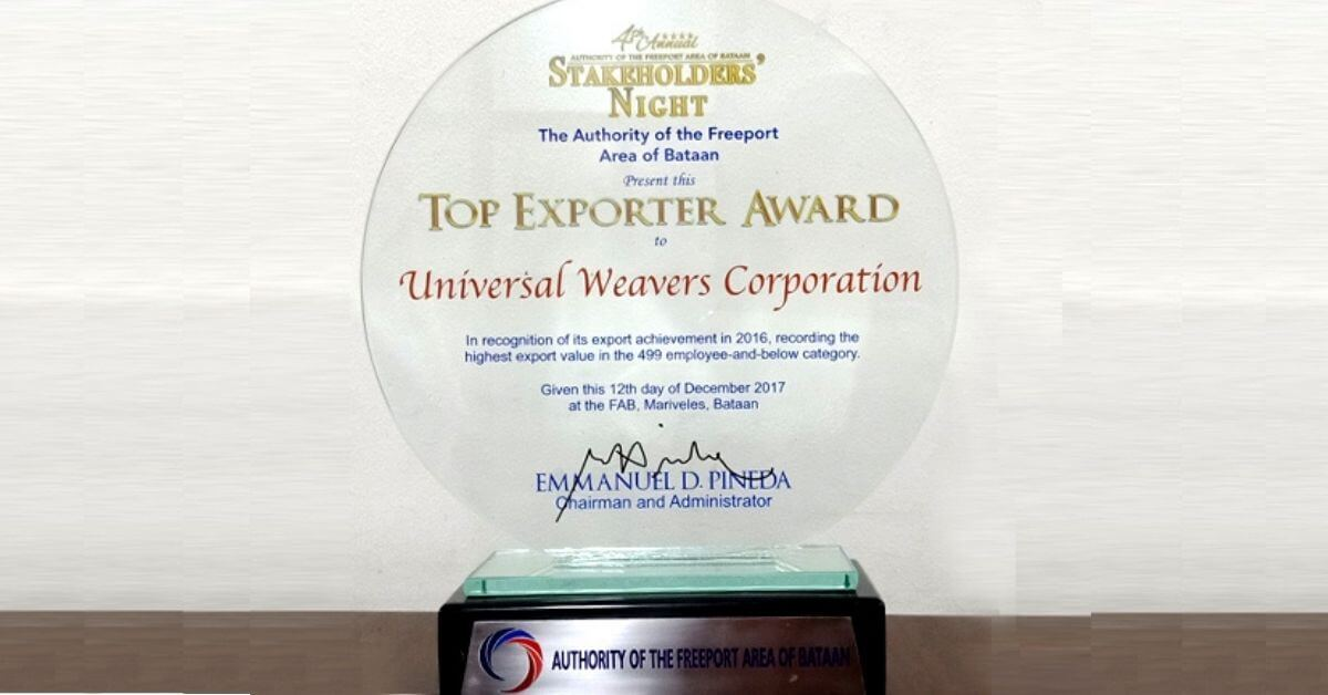Universal Weavers Corp