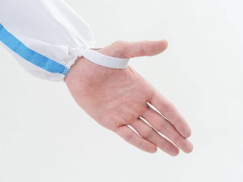 Medtecs coverall details 美德醫療防護衣細節